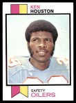 1973 Topps #415  Ken Houston  Front Thumbnail