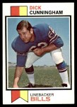 1973 Topps #417  Dick Cunningham  Front Thumbnail