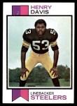 1973 Topps #332  Henry Davis  Front Thumbnail