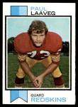 1973 Topps #339  Paul Laaveg  Front Thumbnail