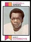 1973 Topps #344  Cornell Green  Front Thumbnail
