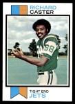 1973 Topps #323  Richard Caster  Front Thumbnail