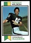 1973 Topps #398  Nemiah Wilson  Front Thumbnail