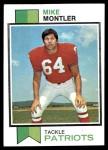 1973 Topps #409  Mike Montler  Front Thumbnail