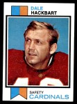 1973 Topps #428  Dale Hackbart  Front Thumbnail