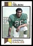 1973 Topps #444  Al Nelson  Front Thumbnail