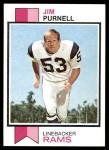 1973 Topps #447  Jim Purnell  Front Thumbnail