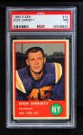 1963 Fleer #14  Dick Christy  Front Thumbnail
