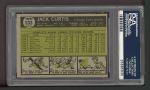 1961 Topps #533  Jack Curtis  Back Thumbnail