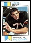 1973 Topps #333  John Zook  Front Thumbnail