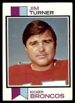 1973 Topps #334  Jim Turner  Front Thumbnail