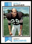 1973 Topps #348  Walt Sumner  Front Thumbnail