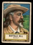 1952 Topps Look 'N See #54  Buffalo Bill  Front Thumbnail