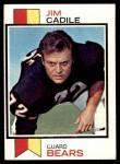 1973 Topps #353  Jim Cadile  Front Thumbnail