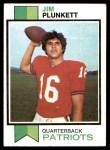 1973 Topps #355  Jim Plunkett  Front Thumbnail