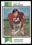 1973 Topps #360  Dave Wilcox  Front Thumbnail