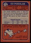 1973 Topps #373  Ed Podolak  Back Thumbnail