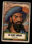 1952 Topps Look 'N See #123  Sir Henry Morgan  Front Thumbnail
