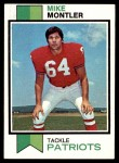 1973 Topps #409  Mike Montler  Front Thumbnail