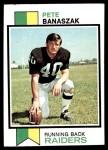 1973 Topps #426  Pete Banaszak  Front Thumbnail
