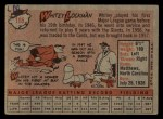 1958 Topps #195  Whitey Lockman  Back Thumbnail
