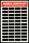 1970 Topps Scratch Offs #20  Jim Spencer  Back Thumbnail