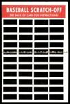 1970 Topps Scratch Offs #24  Carl Yastrzemski  Back Thumbnail