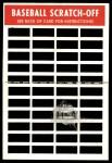 1970 Topps Scratch Offs #21  Willie Stargell     Back Thumbnail