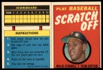 1970 Topps Scratch Offs #21  Willie Stargell     Front Thumbnail