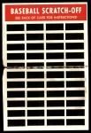 1971 Topps Scratch Offs #9  Mack Jones  Back Thumbnail