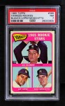 1965 Topps #566   -  Gil Blanco / Art Lopez / Ross Moschitto Yankees Rookies Front Thumbnail