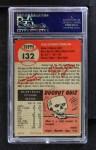 1953 Topps #132  Tom Morgan  Back Thumbnail