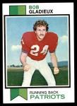 1973 Topps #193  Bob Gladieux  Front Thumbnail