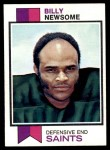 1973 Topps #218  Billy Newsome  Front Thumbnail