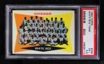 1960 Topps #208   White Sox Team Checklist Front Thumbnail