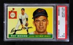 1955 Topps #208  Ray Moore  Front Thumbnail