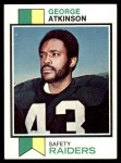 1973 Topps #187  George Atkinson  Front Thumbnail