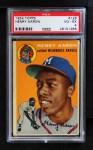 1954 Topps #128  Hank Aaron  Front Thumbnail