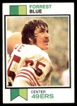 1973 Topps #70  Forrest Blue  Front Thumbnail