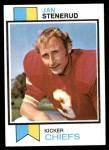 1973 Topps #285  Jan Stenerud  Front Thumbnail