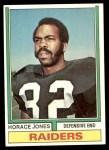 1974 Topps #429  Horace Jones  Front Thumbnail