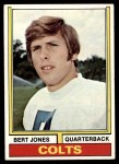 1974 Topps #524  Bert Jones  Front Thumbnail
