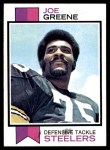 1973 Topps #280  Joe Greene  Front Thumbnail