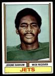1974 Topps #253  Jerome Barkum  Front Thumbnail