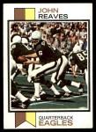 1973 Topps #372  John Reaves  Front Thumbnail