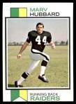 1973 Topps #345  Marv Hubbard  Front Thumbnail