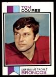1973 Topps #386  Tom Domres  Front Thumbnail