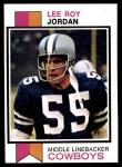 1973 Topps #159  Lee Roy Jordon  Front Thumbnail
