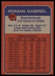 1973 Topps #266   -  Roman Gabriel Boyhood Photo Back Thumbnail