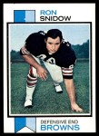 1973 Topps #53  Ron Snidow  Front Thumbnail